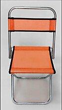 Zll/Klapphocker/Tragbare Hocker Mazar/Outdoor Skizzieren Mazar/Zug/verzinktem Stahl Rohr Angeln Hocker orange