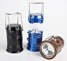 Zll/neuen Zelt/Camping Licht/LED Lampe/Solar Lampe Taschenlampe Ultra Helle Lichter/Notfall Beleuchtung Goldfarben