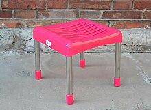 ZLL/ Runde/Quadrat/niedrige Kunststoff Hocker Hocker Bank/Hocker/Tisch Bank/Kleinkind Schuhe Sitzbank montiert , fluorescent yellow