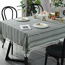 Zller2587 Rechteckige Tischdecke im ethnischen