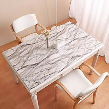 Zller2587 wasserdichte rechteckige Tischdecke aus