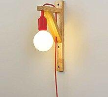 ZLMAY Kreative Persönlichkeit LED Massivholz