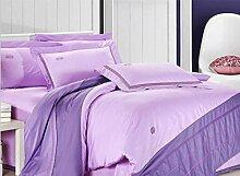 ZLQZZPP Heimtextilien Boutique High - End Aktive Baumwollstickerei Bettwäsche Vier - Stück Gekämmte Baumwolle,4-250*250