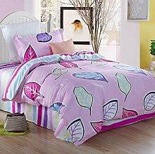 ZLQZZPP Heimtextilien Personalisierte Modeeinzelbett Baumwolle Drei - Stück Student Bett Baumwolle Animation Textilwaren,3-4InchBed
