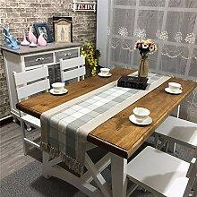 ZLRYY Baumwolltuch Tischdecken Kariertes Tischtuch