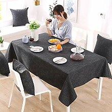 ZLRYY Baumwolltuch Tischdecken Tischdecken Einweg