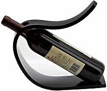 ZLSD Moderner Weinhalter Aufsatz Acryl Weinregal
