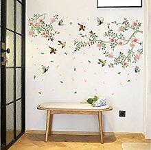 Zlxzlx Blume Vogel Wohnzimmer Schlafzimmer