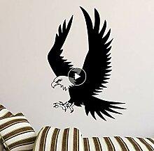 Zlxzlx Exquisite Adler Wandaufkleber E