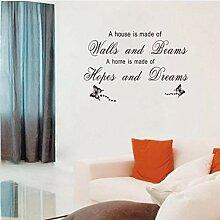 Zlxzlx Home Wohnzimmer Schlafzimmer Wandaufkleber