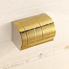 ZLYAYA& Edelstahl Bad WC Goldpapier Rack Küche, Schlafzimmer-Roll-Rack, Sanitär Papierfach, Bad-Accessoires, Regal 200 * 120 * 120 mm