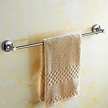 ZLYAYA--handtuchhalter,304 Edelstahl punch single Hebel 40 cm, einfache und stilvolle Dicke dicke Mauer Küche, Bad Regale metallaufhänger Montagehalterung montierthandtuchstangen,handtuchständer