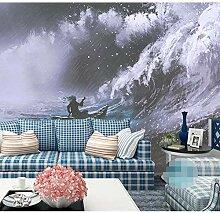 Zlywj Schwarz-Weiß-Tapete Für Kinderzimmer Sofa