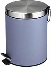 ZLZ-Mülleimer Trash Dosen Kreative Mülleimer Mülleimer Edelstahl Trash Home Wohnzimmer Küche WC Mülleimer (Farbe : B)