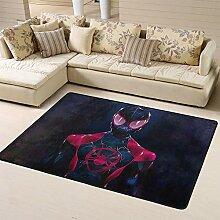 Zmacdk Spiderman-Kinderteppich, Campingdecke,