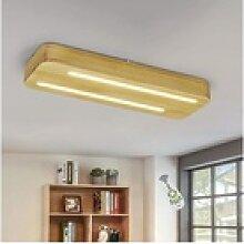 ZMH LED Deckenleuchte 35W 40cm aus Holz und Acryl