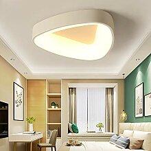 ZMH LED Deckenleuchte Φ43cm Deckenlampe dimmbar