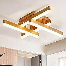 ZMH LED Deckenleuchte als Holz und Acryl