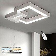 ZMH LED Deckenleuchte Deckenlampe Wohnzimmer 32W
