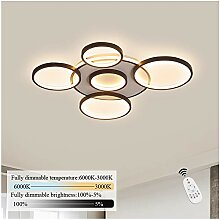 ZMH LED Deckenleuchte wohnzimmer Deckenlampe