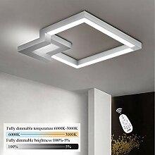 ZMH LED Deckenleuchte Wohnzimmer Dimmbar