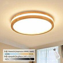 ZMH LED Deckenleuchte Wohnzimmer Dimmbar mit