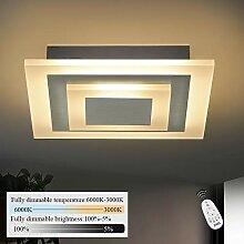 ZMH LED Deckenleuchte Wohnzimmer Dimmbar stufenlos