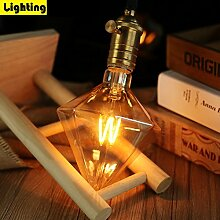 ZMH LED Glühbirne E27 4W Vintage Retro Edison