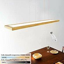 ZMH LED Hängeleuchte esstisch Pendelleuchte Holz