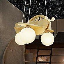 ZMH LED Hängeleuchte Kinderzimmer Flugzeug