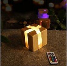 ZMH LED Nachtlicht Nachtlicht Nachttischlampe Holz