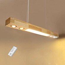 ZMH LED Pendelleuchte aus Holz Hängelleuchte
