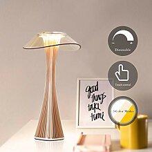 ZMH LED Tischlampe Akku Nachttischlampe Touch
