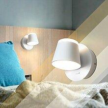 ZMH LED Wandlampe Innen Leselampe Wohnzimmer