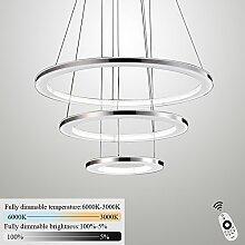 ZMH Moderne LED Pendelleuchte esstisch 72W Led