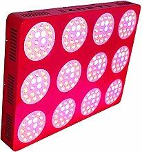 ZNET12 1000W HPS Ersatz Professionelle Vollspektrum LED Grow Lampe,LED Pflanzenlampe (ZNET12-1000W)