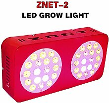 ZNET2 150W HPS Ersatz Professionelle Vollspektrum LED Grow Lampe,LED Pflanzenlampe (ZNET2-150W)