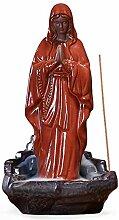 ZNYLX Skulptur Keramik Jesus Christus Jungfrau