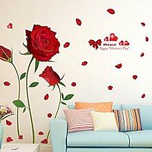 Znzbzt Entfernen Sie romantische rose Blumen