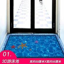 Znzbzt Kreative Fliesen Aufkleber 3D-Poster
