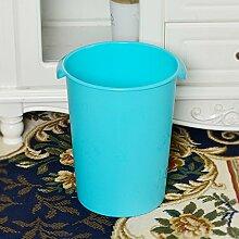 ZnzbztKreativ mit Trommelfell home Küche wc Zeichnen stilvolle Einrichtung nicht-Fuß barrel, hellgrün Mülleimer