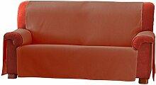 Zoco Sofa Überwurf 4 Sitzer Fb. 19-orange