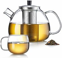 Zoe&Mii -Teekanne - Teekanne Glas - Teekanne mit