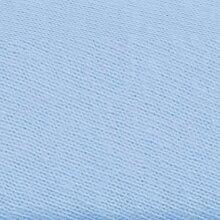 Zöllner Spannbetttuch Tencel® 40x80 - 40x90 cm hellblau