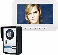Zoll Tft Video Tür Telefon Doorbell Intercom Kit
