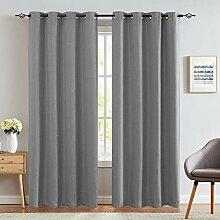Zollan Leinen-Vorhang, verdunkelnd, für