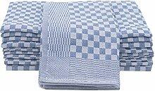 ZOLLNER 10er Set Geschirrtücher Baumwolle, 46x90