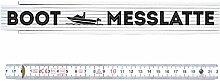 ZOLLSTOCK Metermaß Maßstab BOOT MESSLATTE