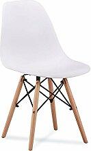 ZOLTA Retro Design Stuhl Blau Esszimmerstuhl