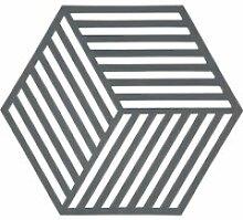 Zone Denmark - Hexagon Untersetzer, grau